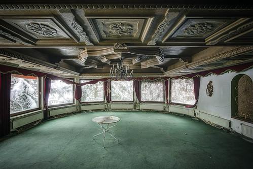 empty ball room