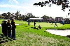 Military at AT&T Pebble Beach Pro