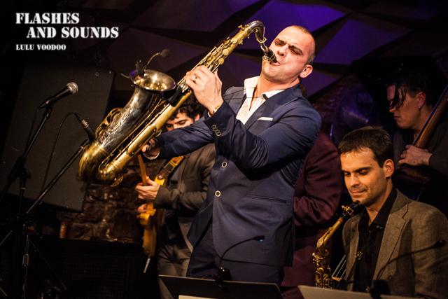 Ray Gelato & Barcelona Big Blues Band feat Sax Gordon, Dani Nel·lo & Dani Pérez04