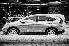 automobile, automotive exterior, sport utility vehicle, compact mpv, wheel, vehicle, automotive design, compact sport utility vehicle, honda cr-v, crossover suv, monochrome photography, land vehicle, monochrome, black-and-white,