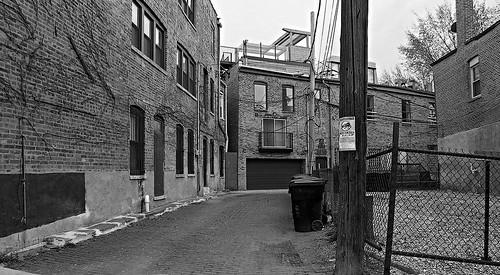 Alley in East Pilsen - Chicago - BW Rescan - TIFF 006