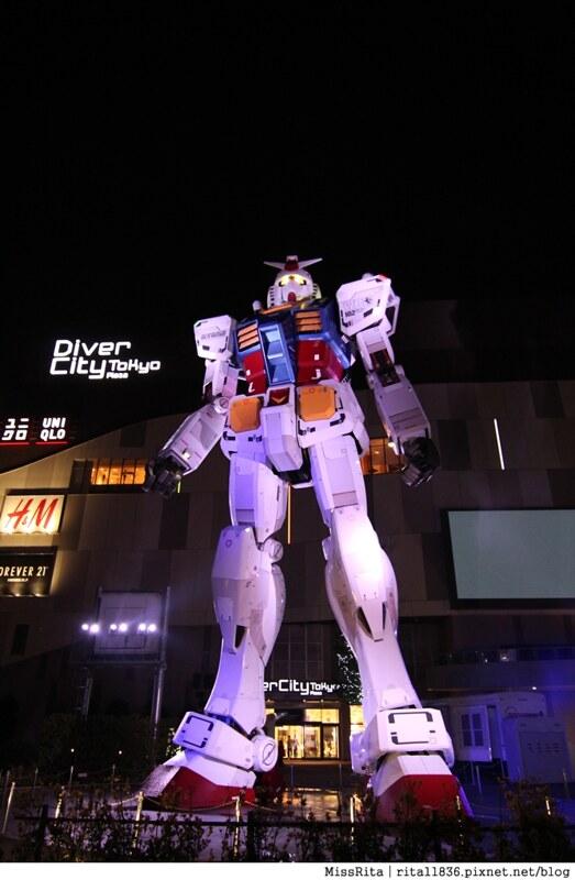 日本台場 鋼彈 彩虹大橋 自由女神 景點13