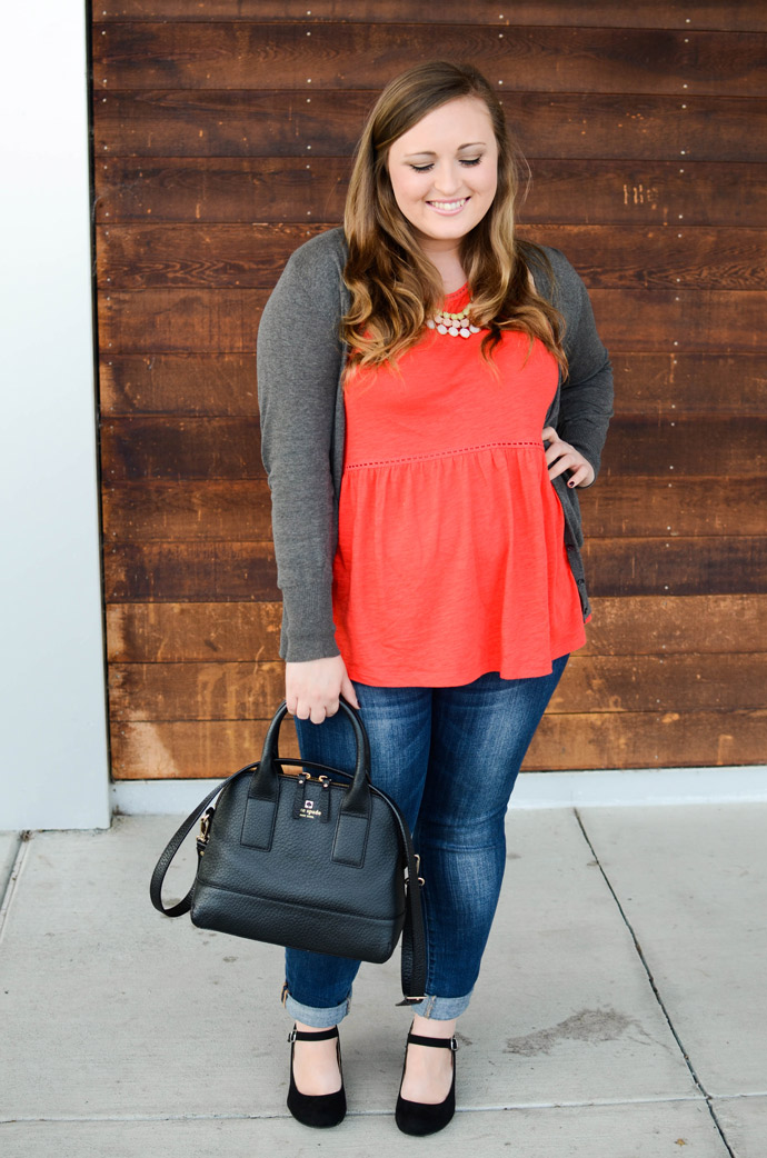 outfit, style, ootd, express, cathy jean, francesca's, jewelry