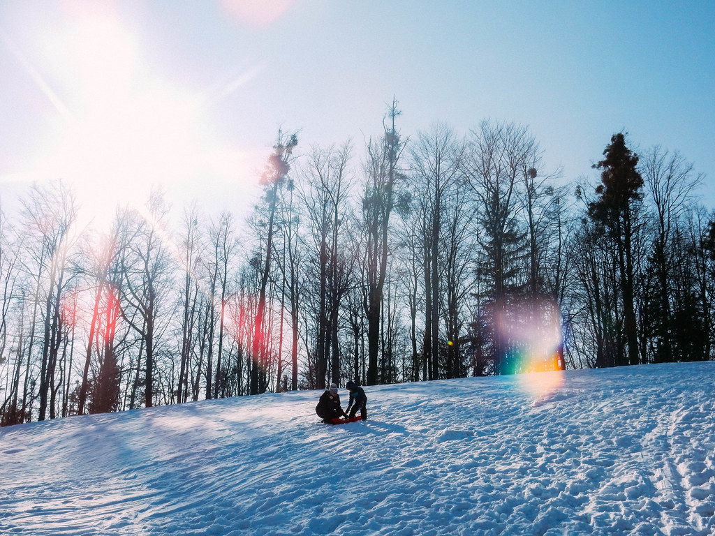Sledding in Czech (2/7/15)