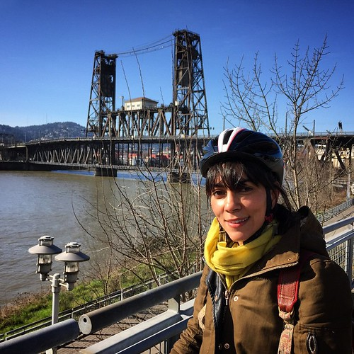 Perfect weekend for cycling Portland