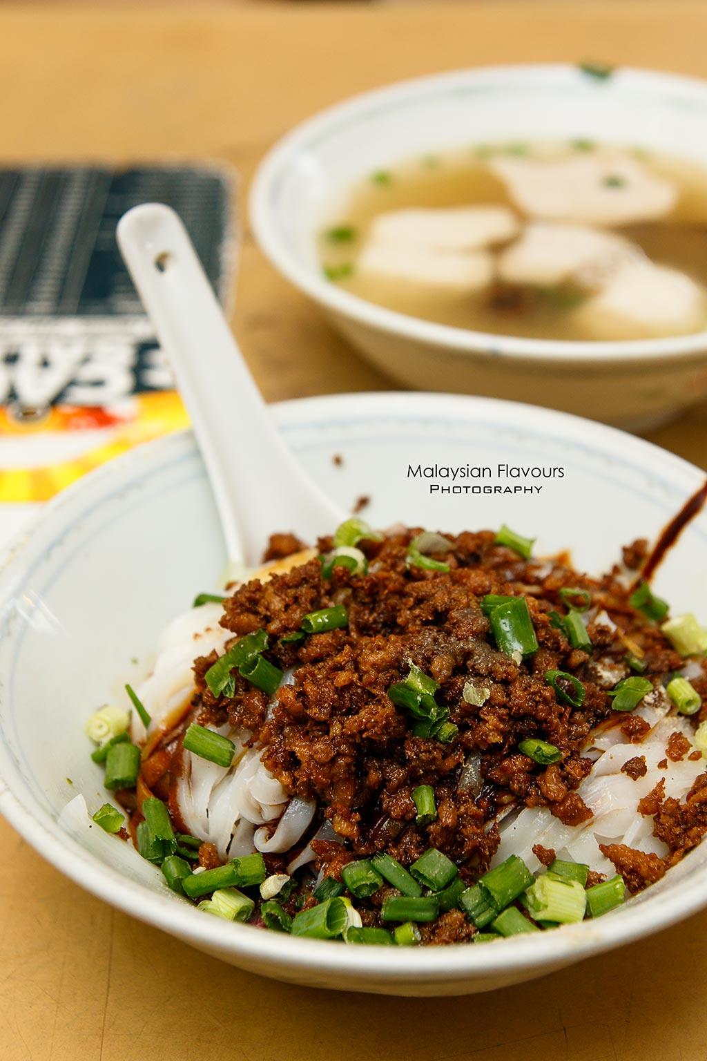 Win Heng Seng Jalan Imbi KL pork ball noodles