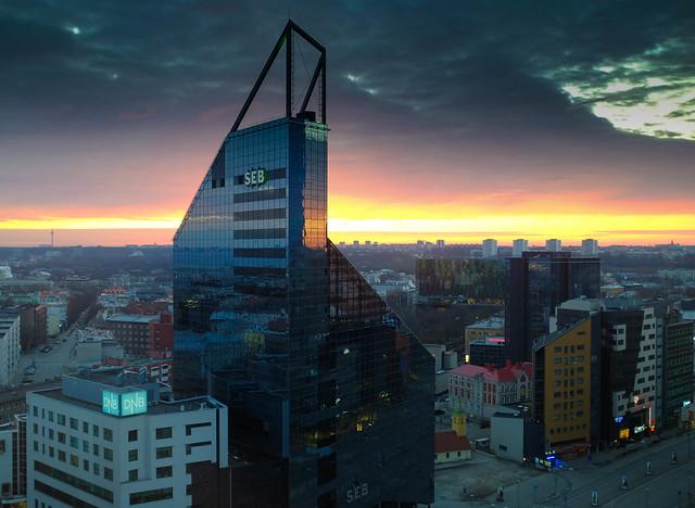 Sunset Tallinn