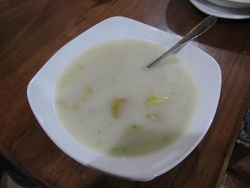 Quilotoa: soupe de pommes de terre