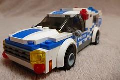 Victoria Police Division Van