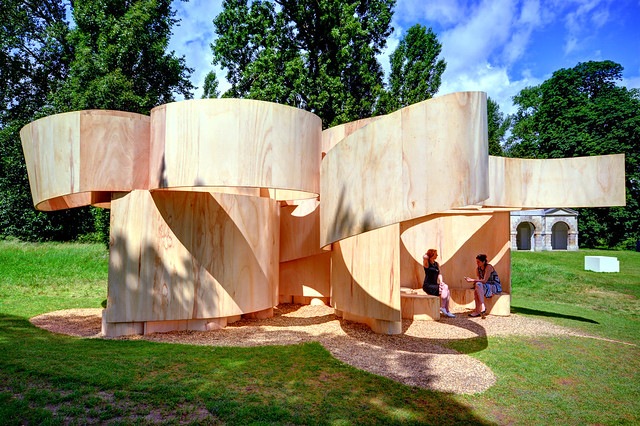 Serpentine Summer House 2016 / Barkow Leibinger