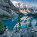 Lake Moraine - Banff Canada by DLizbinski