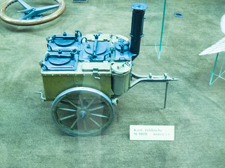 Prototype model of field kitchen