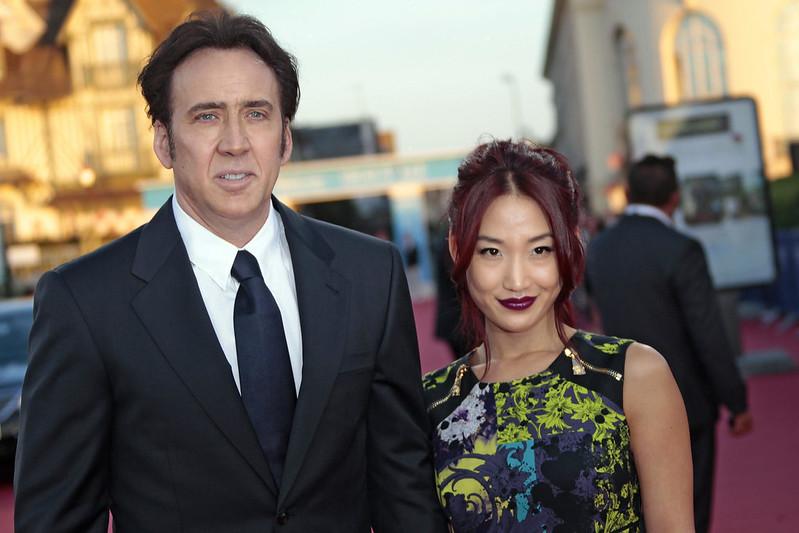 Фото | Бывшие супруги Николас Кейдж и Элис Ким