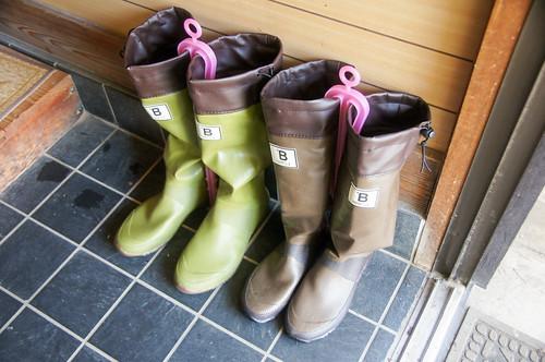 バードウォッチング長靴