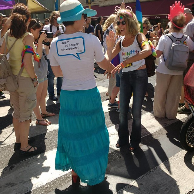 #sentinelli che ballano #milanopride2016 #sentinellidimilano