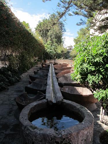 Arequipa: le Couvent Santa Catalina et ses lavoirs