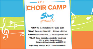 Choir Camp May 25