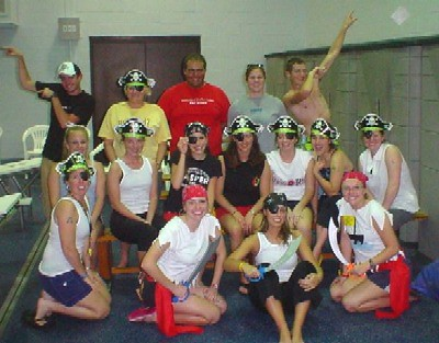 Training our 2005 lifeguards