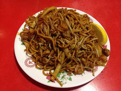 Fried Seafood Hokkien Mee ($9.50)