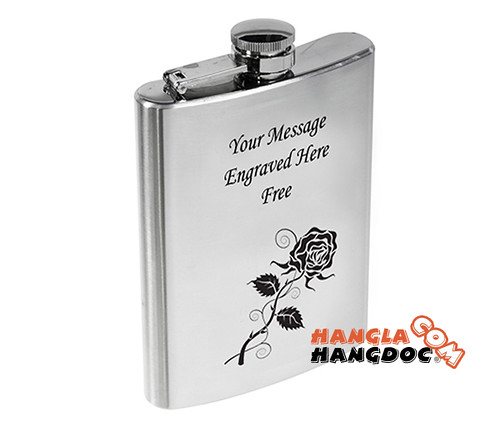 Hip Flask - bình đựng rượu Whisky cổ điển mà độc đáo!!! Đủ kích cỡ cho bạn. ..