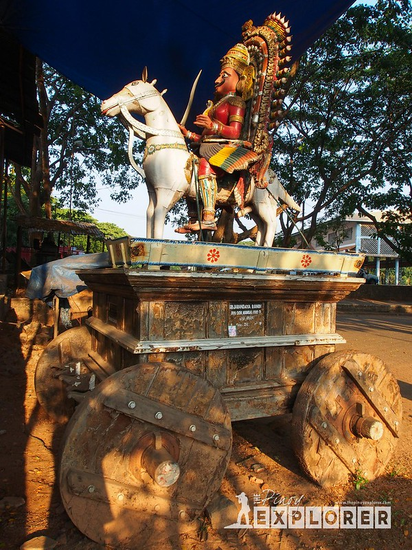 Temple Chariots of Dharmasthala