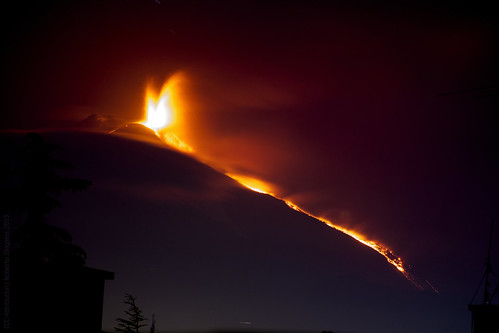 Etna eruzione 27-04-2013