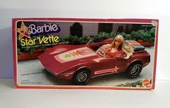 Vintage Mattel Barbie Star Vette Corvette