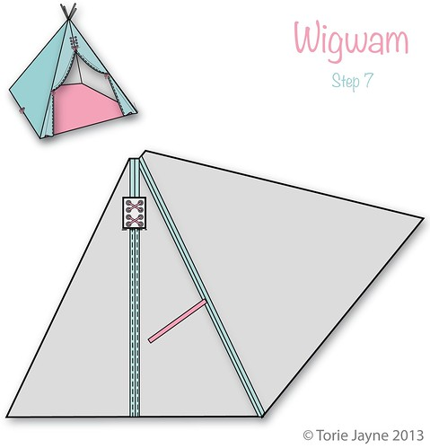Wigwam Step 7
