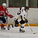 Brody Gibbon game action with Selkirk (
