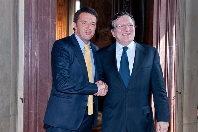 Barroso a Renzi :