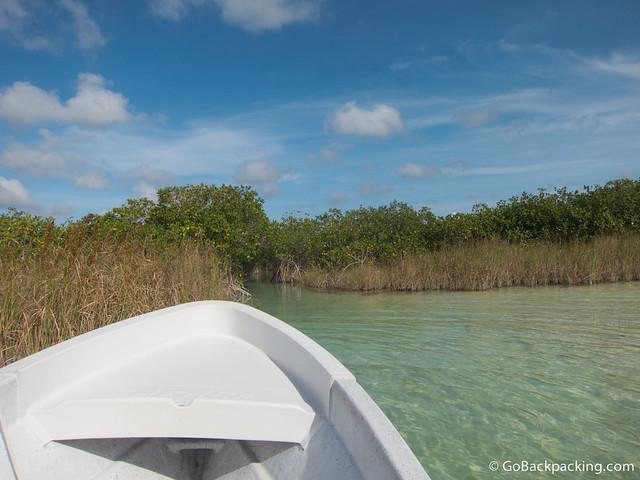 Navigating the waterways
