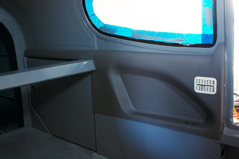 Left Rear Interior Panels