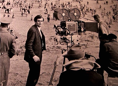 Stanley on set of Sparticus