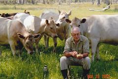 Trevor Bain with the Murray Greys 20nov2003