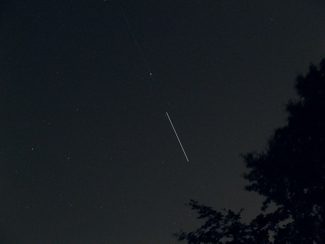 ISS and Einstein