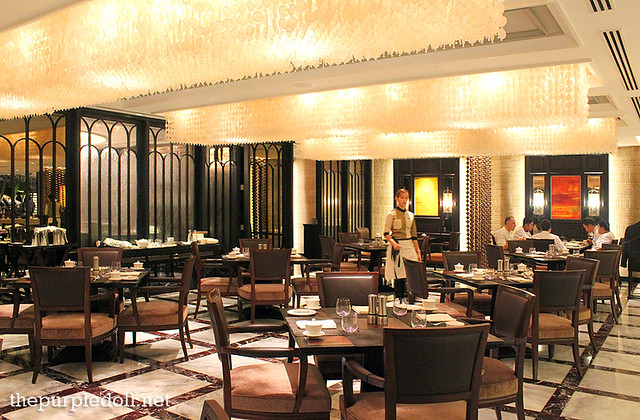 Dining area at Spiral Sofitel Manila