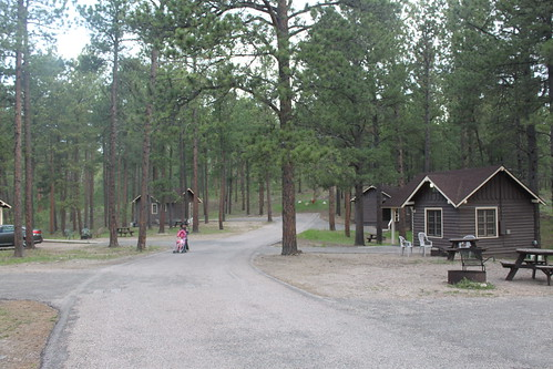 cabins at custer