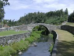 Ponte do Carro em Santa Cruz do Bispo, Matosinhos