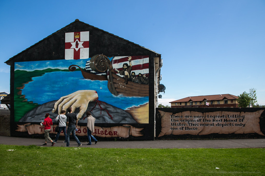 'Read Hand of Ulster' mural