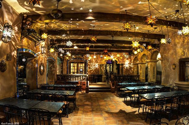 Rancho Del Zocalo Resturant Disneyland HDR