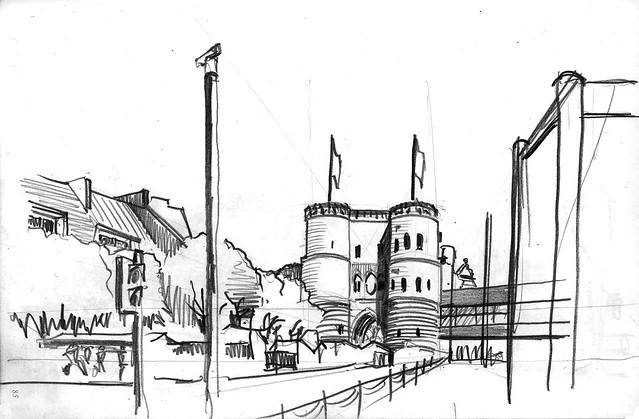Köln Hahnentor Rudolfplatz