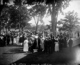 Reception for the Prince of Wales at Rideau Hall in Ottawa, Ontario during royal visit to Canada, August 1919 / Réception donnée en l'honneur du prince de Galles à Rideau Hall, à Ottawa, Ontario, pendant sa visite au Canada, août 1919