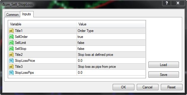 Forex stop loss script