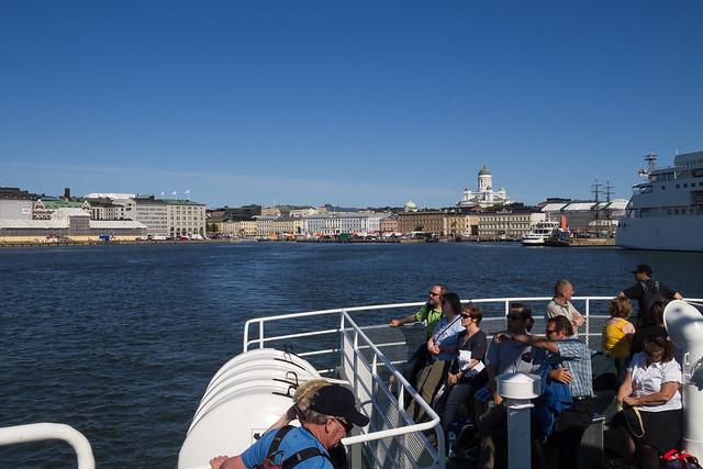 Helsinki on the sea