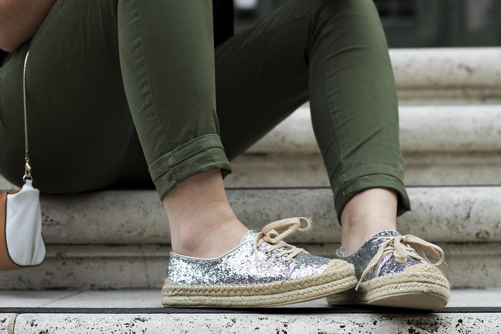 espadrille, glitter espadrille, silver shoes, le bunny bleu, platform espadrilles