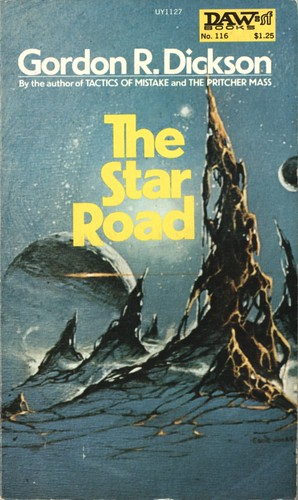 The Star Road by  Gordon R. Dickson. Daw SF 1974. Cover artist Eddie Jones
