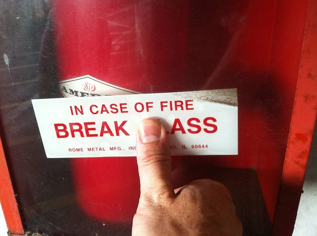 In Case of Fire Break Ass