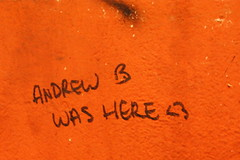 ANDREW B WAS HERE <3