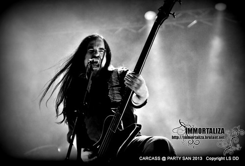 CARCASS @ PARTY SAN OPEN AIR 2013 SCHLOTHEIM, Germany 9631677468_3e5b2216c6