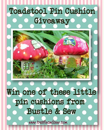 Toadstool Giveaway